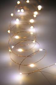 wire lights 10 ft outdoor battery operated warm white
