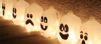 How To Make Little Ghost Decorations 10 Cheap Diy Halloween Decorating Ideas Indoor U0026 Outdoor
