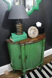 Green Powder Room Powder Room Reveal Domestic Charm