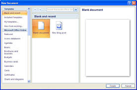 how to create a resume in word 2007