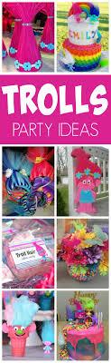 party ideas 20 terrific trolls party ideas pretty my party