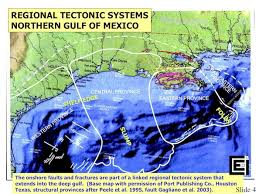 houston fault map explosive methane fault migration gulf to la salt domes
