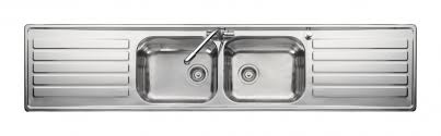 Leisure Luxe LX  Bowl Stainless Steel Inset Kitchen Sink - Kitchen sink double bowl double drainer