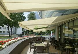 Modern Awnings Plain And Minimal Awnings Perfectly Fit The Modern Facade Of A