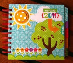 summer in full color with scrapbook adhesives and echo park paper