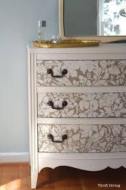 Diy Painted Furniture Inspirations Painted Dresser Ideas For Elegant Interior Storage