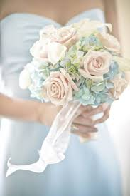 blue wedding bouquets light blue wedding flowers wedding corners