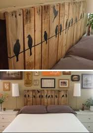 Simple Headboard Ideas by 12 Pallet Headboard With Storage For People Who Wants Their