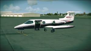 fsx aircraft review lionheart creations learjet 24b u2013 propeller09