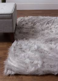 Sheepskin Area Rugs House Of Hton Woven Faux Sheepskin Gray Area Rug