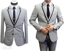 light gray suits for sale grey suit black trim go suits