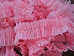 ruffled streamers make ruffled crepe paper easy streamers dma homes 55309