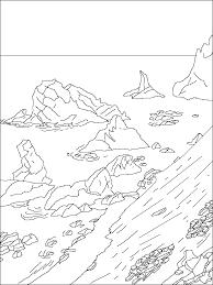 antarctica coloring page glum me