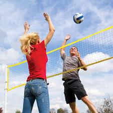 eastpoint sports volleyball badminton set