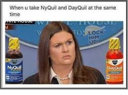 Nyquil Meme - when u take nyquil and dayquil at the same time onlock him up