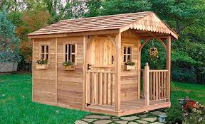 Different Types Of Garden - garden sheds add to your backyard design