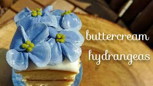 Hydrangea Flowers Buttercream Hydrangeas How To Pipe Hydrangea Flowers Youtube