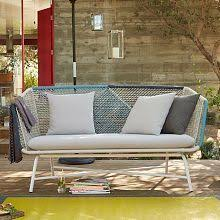 West Elm Lounge Chair This Huron Corded Outdoor Furniture At West Elm Is Bonkers Pretty