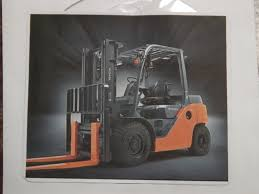 toyota 5 6 and 7 series forklift service manual on flash drive