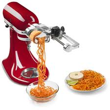 Kitechaid Kitchenaid 5 Blade Spiralizer With Peel Core And Slice Walmart Com