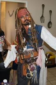 how to create a captain jack sparrow pirate costume my jack sparrow costume pinteres