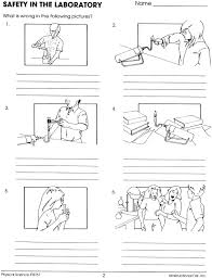Lab Safety Worksheet Lee Keller Pinterest Lab Safety