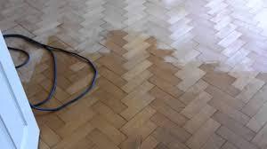 wood floor sanding wirral rustic maple parquet blocks sanded and