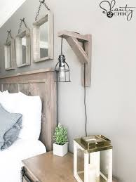 Lamp Sconce Diy Corbel Sconce Light For 25 Shanty 2 Chic