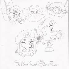 He Brave Little Toaster The Brave Little Mario Toaster By Superkass On Deviantart