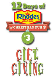 day 3 12 days of rhodes christmas fun