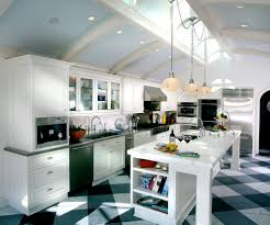 Range Hood Cathedral Ceiling by Newark Kitchen Island Lighting Traditional With Painted Wood
