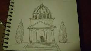 july 15th neoclassical architecture sketchdaily