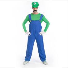 Mario Luigi Halloween Costume Popular Mario Luigi Halloween Costume Buy Cheap Mario