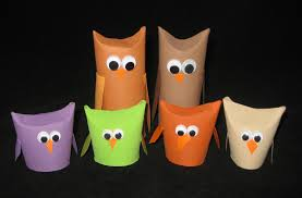 cindy derosier my creative life toilet paper roll owls