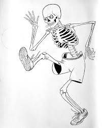 soccer playing skeleton new beat from brain