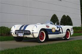 corvette auctions 1953 chevrolet corvette roadster race car barrett jackson