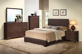 platform bedroom sets king bedroom sets ireland pcs brown pu wood