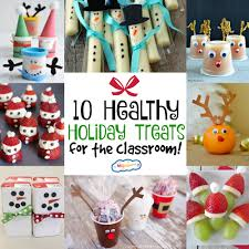 10 healthy holiday treats for the classroom momables