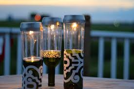 Wine Bottles With Lights How To Make Wine Bottle Solar Lights Protea Wines
