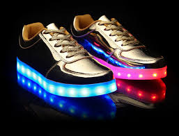 led light up shoes for adults led shoes gold low top men
