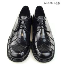 zodiac siege social modshoes northern soul shoes zodiac in black 01 mod shoes