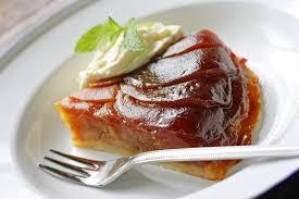 t駘駑atin recettes de cuisine recette tarte tatin au miel
