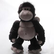 3d king kong stuffed animal kids orangutan plush toys