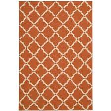 Orange Outdoor Rugs Orange 8 X 11 Outdoor Rugs Rugs The Home Depot