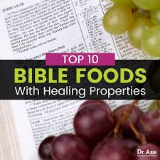 top 10 bible foods that heal dr axe