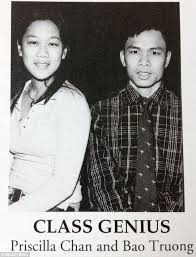 highschool year book from class genius to building robots how priscilla chan s