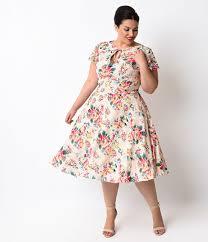 vintage style 1940s plus size dresses 1940s style unique