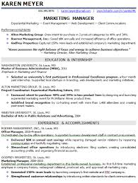 Entry Level Communications Resume Entry Level Marketing Resume Samples Resume Ideas