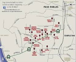 paso robles winery map paso robles 46 wineries