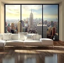 living room mural giant size wallpaper mural for living room new york penthouse